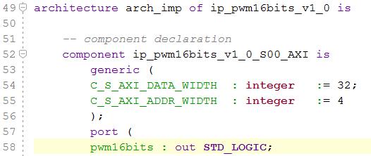 Créer un module IP avec Vivado